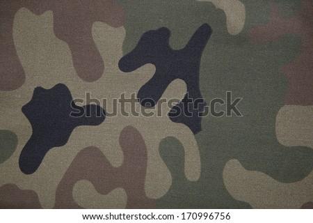 Camouflage pattern background - stock photo