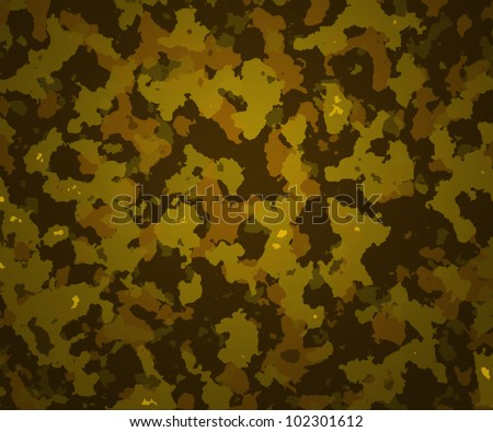 Camouflage Texture Army Background - stock photo