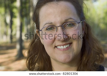 Camp counselor Portrait - stock photo