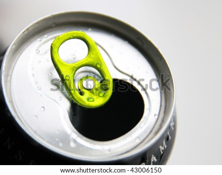Can of energy - stock photo