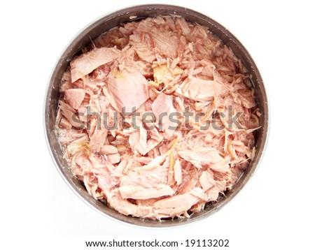 can of tuna - stock photo