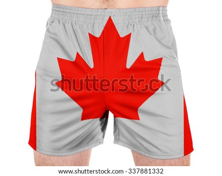 Canada. Canadian flag  - stock photo