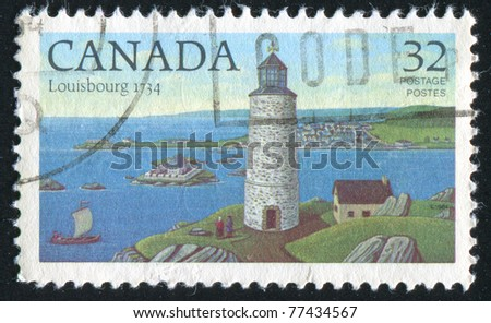 CANADA - CIRCA 1984: stamp printed by Canada, shows lighthouse, circa 1984