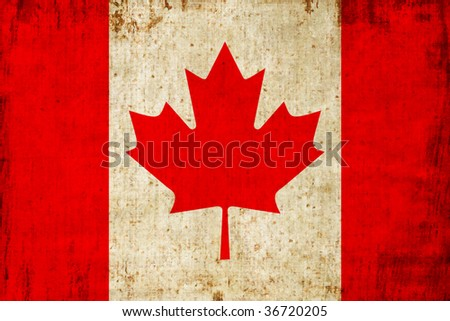 Canada flag - stock photo