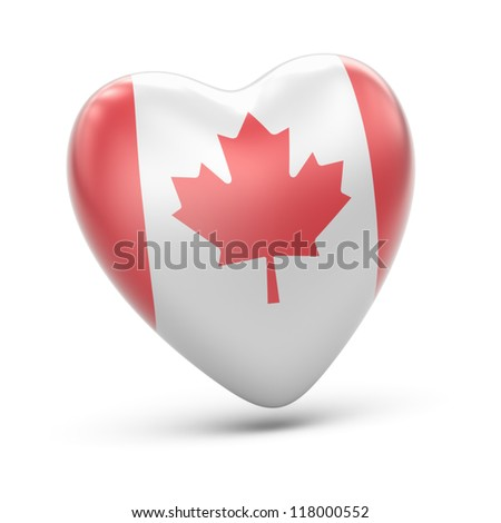 Canada  Full collection of icons like that is in my portfolio - stock photo