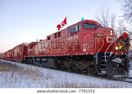 Canada Pacific Railroad's Holiday Train