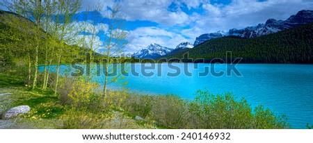 Canada Panorama Landscape  - stock photo