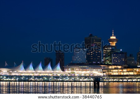 Canada Place Vancouver - stock photo