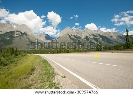 Canadian Rockies in Yoho National Park, British Columbia, Canada - stock photo