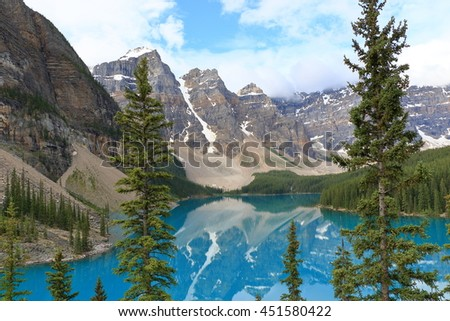 Canadian Rocky Mountain Parks : Moraine Lake