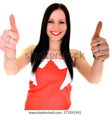 Canadian supporter support their team - stock photo