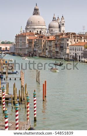 Canale Grande in Venedig, Italien - stock photo