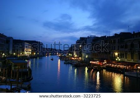 Canale Grande in Venice - stock photo