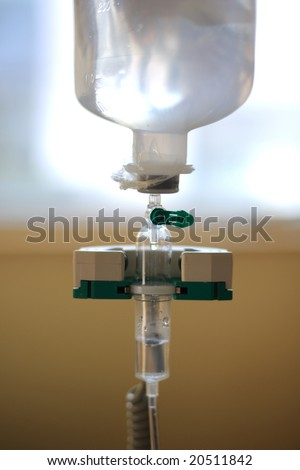 cancer chemotherapy - stock photo