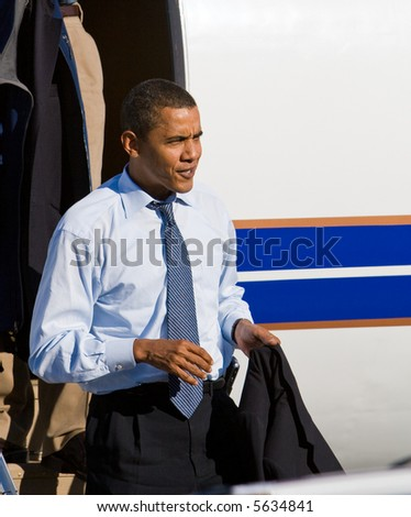 Candidate Obama - stock photo