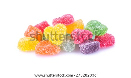 candies. jelly candies on a background. jelly candies on a background. - stock photo