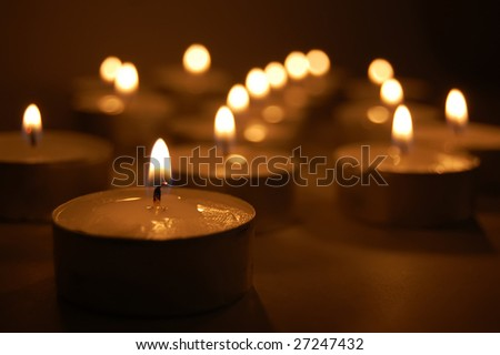 Candles 2 - stock photo