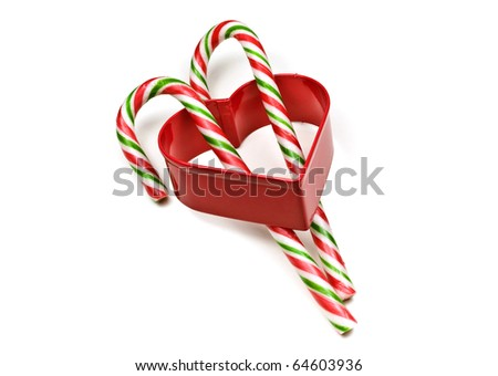 Candy Cane Stick in Love