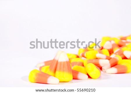 Candy corn - stock photo