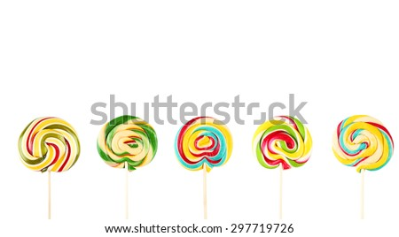 Candy isolated on white
