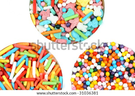 Candy mix - stock photo