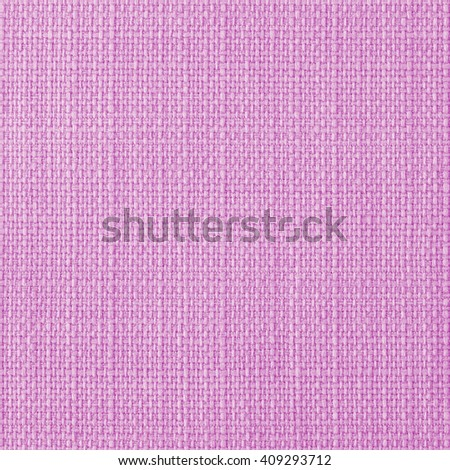 Candy pink fabric texture. Close up, top view. - stock photo