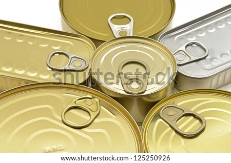 canned food opener - stock photo