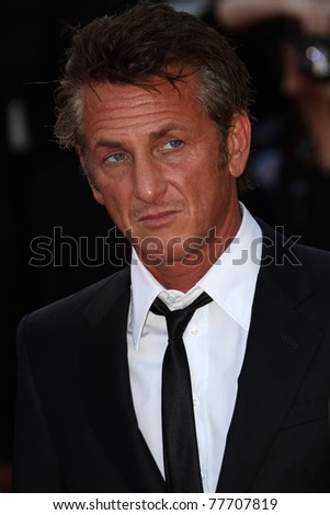 CANNES, FRANCE - MAY 20: Actor Sean Penn attends the 'This Must Be The Place' Premiere during the 64th Cannes Film Festival at the Palais des Festivals on May 20, 2011 in Cannes, France.
