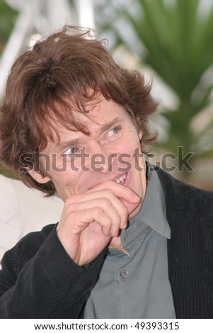 CANNES, FRANCE - MAY 16: Actor Willem Dafoe attends a photocall promoting the film 'Manderlay' at the Palais during the 58th International Cannes Film Festival May 16, 2005 in Cannes, France