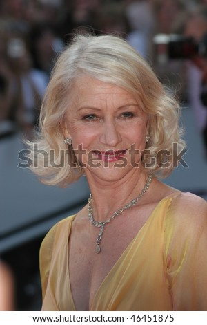 CANNES, FRANCE - MAY 20: Actress Helen Mirren attends the premiere for the film 'Chacun Son Cinema' at the Palais des Festivals during the 60th Cannes  Festival on May 20, 2007 in Cannes, France