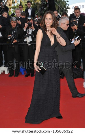 "CANNES, FRANCE - MAY 26, 2012: Andie MacDowell at the gala screening of ""Mud"" in Cannes. May 26, 2012  Cannes, France"