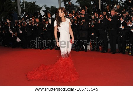 "CANNES, FRANCE - MAY 20, 2012: Cheryl Cole at the premiere of ""Amour"" at the 65th Festival de Cannes. May 20, 2012  Cannes, France - stock photo"