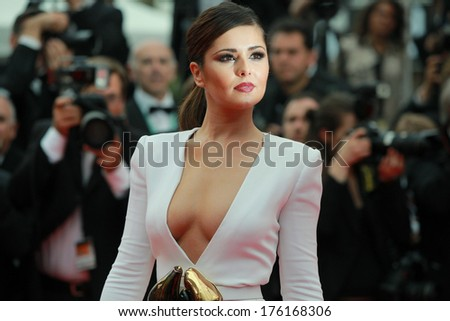 CANNES, FRANCE - MAY 13: Cheryl Cole attends the 'Habemus Papam' Premiere during the 64th Annual Cannes Film Festival on May 13, 2011 in Cannes, France.  - stock photo
