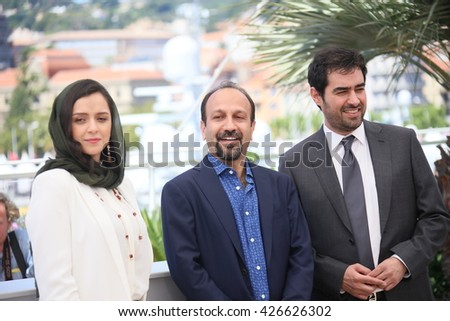 CANNES, FRANCE - MAY 21: Director Ashgar Farhadi attends 'The Salesman (Forushande)' Photocall during the 69th annual Cannes Festival at the Palais des Festivals on May 21, 2016 in Cannes, France.