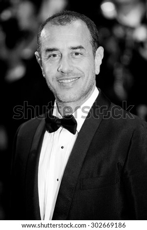CANNES, FRANCE- MAY 14: Director Matteo Garrone attends the ''Tale of Tales' premiere during the 68th Cannes Film Festival on May 14, 2015 in Cannes, France. - stock photo
