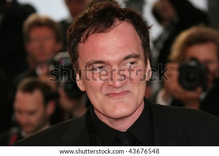 CANNES, FRANCE - MAY 20: Director Quentin Tarantino attends the Inglourious Basterds Premiere held at the Palais during the 62nd International Cannes Film Festival on May 20th, 2009 in Cannes, France.