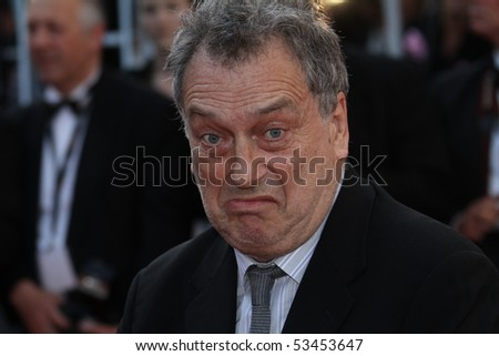 CANNES, FRANCE - MAY 18: Director Stephen Frears departs the 'Tamara Drewe' Premiere at Palais des Festivals during the 63rd Annual Cannes Film Festival on May 18, 2010 in Cannes, France