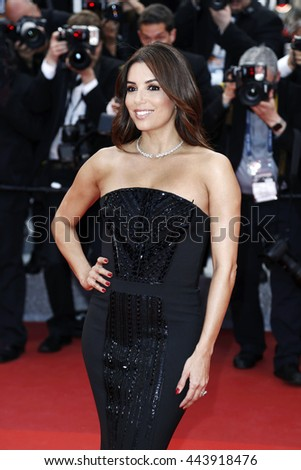 CANNES, FRANCE - MAY 12: Eva Longoria attends the 'Money Monster' Premiere during the 69th Cannes Film Festival on May 12, 2016 in Cannes, France - stock photo