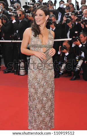 "CANNES, FRANCE - MAY 17, 2009: Evangeline Lilly at the premiere of ""Vengeance"" in competition at the 62nd Festival de Cannes. - stock photo"