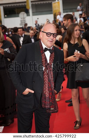 Cannes, France - 22 MAY 2016 - Gianfranco Rosi attends the closing ceremony of the 69th annual Cannes Film Festival