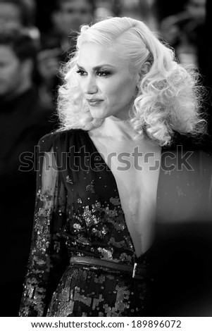 CANNES, FRANCE - MAY 16: Gwen Stefani attends 'The Tree Of Life' premiere during the 64th Cannes Film Festival on May 16, 2011 in Cannes, France. - stock photo