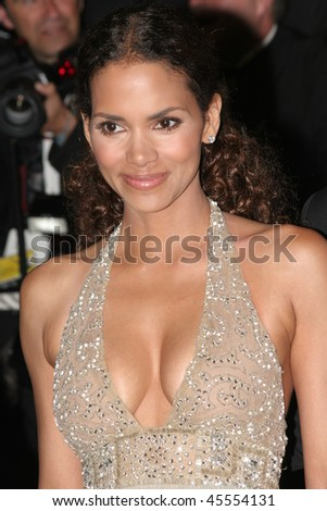 CANNES, FRANCE - MAY 22: Halle Berry photographed after the 'X-Men 3' premiere at the Palais des Festivals during the 59th Cannes Film Festival May 22, 2006 in Cannes, France - stock photo