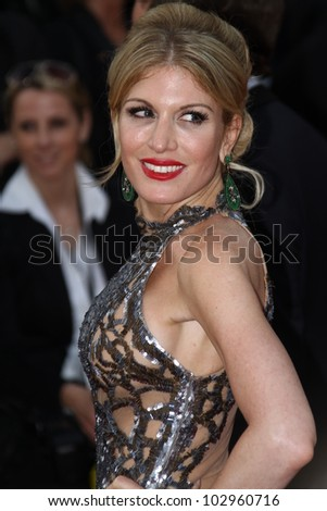 CANNES, FRANCE - MAY 17: Hofit Golan attends the 'De Rouille et D'os' Premiere during the 65th  Cannes Film Festival at Palais des Festivals on May 17, 2012 in Cannes, France. - stock photo