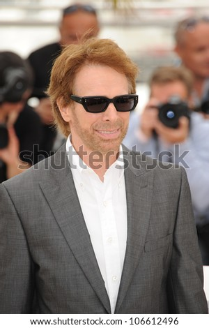 "CANNES, FRANCE - MAY 14, 2011: Jerry Bruckheimer at the photocall for his movie ""Pirates of the Caribbean: On Stranger Tides"" at the 64th Festival de Cannes. May 14, 2011  Cannes, France"