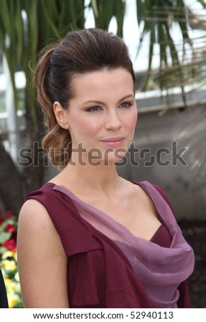CANNES, FRANCE - MAY 12: Jury member Kate Beckinsale attends the Jury Presentation Photocall at the Palais des Festivals during the 63rd  Cannes Film Festival on May 12, 2010 in Cannes, France - stock photo