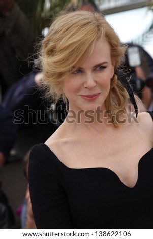 CANNES, FRANCE - MAY 15: Jury member Nicole Kidman attends the Jury Photocall during the 66th Annual Cannes Film Festival at the Palais des Festivals on May 15, 2013 in Cannes, France. - stock photo