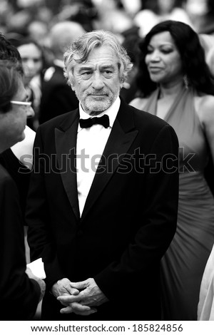 CANNES, FRANCE - MAY 22: Jury President Robert De Niro attends the Closing Ceremony during the 64th Cannes Film Festival on May 22, 2011 in Cannes, France. - stock photo