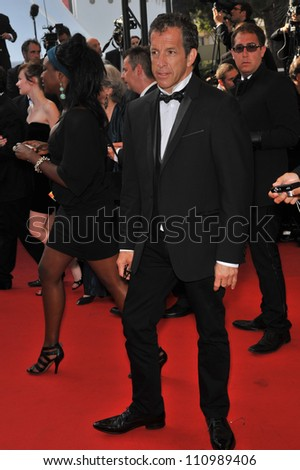 CANNES, FRANCE - MAY 24, 2009: Kenneth Cole at the closing awards gala at the 62nd Festival de Cannes.