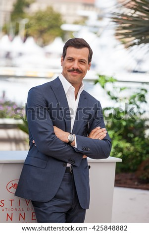 Cannes, France - 21 MAY 2016 -  Laurent Lafitte attends the 'Elle' Photocall during the 69th annual Cannes Film Festival