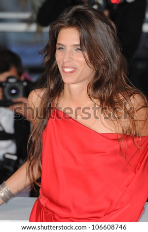 "CANNES, FRANCE - MAY 22, 2011: Maiwenn - winner of the Jury Prize for her film ""Polisse"" -  at the 64th Festival de Cannes awards gala. May 22, 2011  Cannes, France"